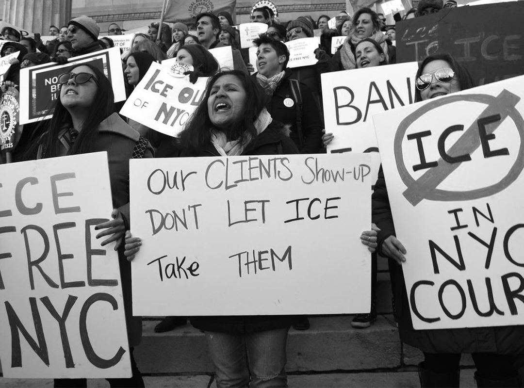 EYES ON COURTS: DOCUMENTING ICE ARRESTS