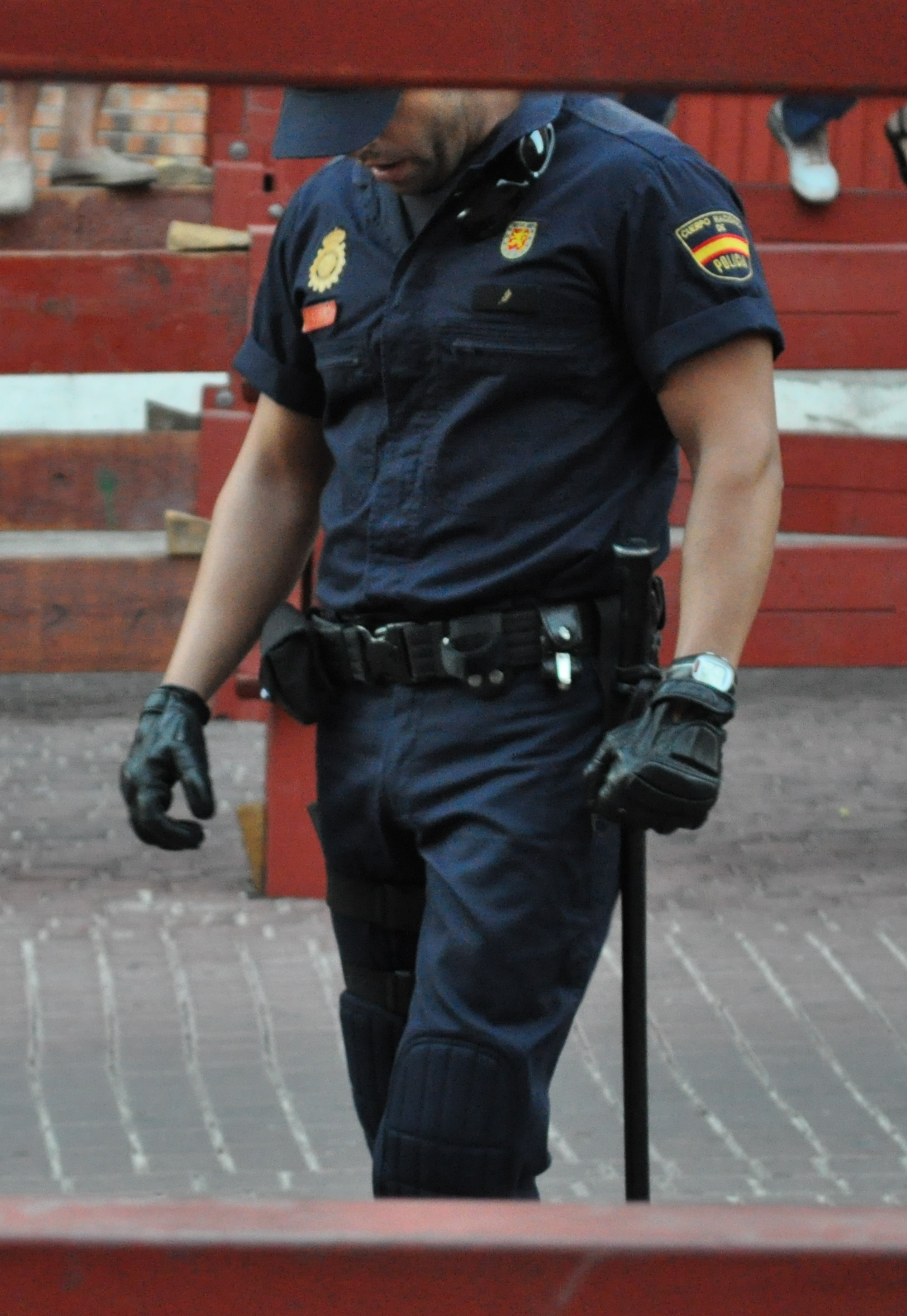 Unidentifiable Spanish Riot Police