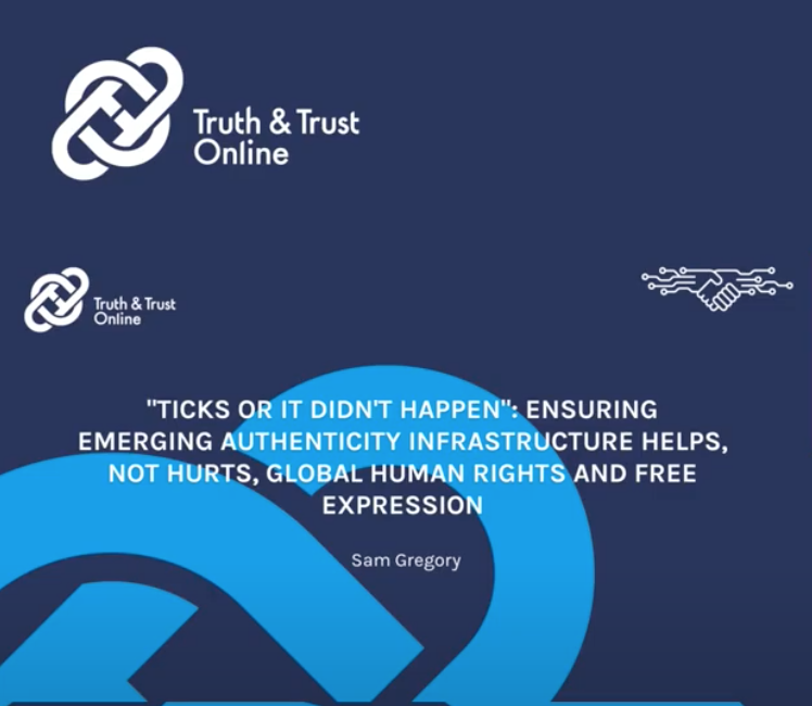 ENSURING AUTHENTICITY INFRASTRUCTURE HELPS, NOT HURTS