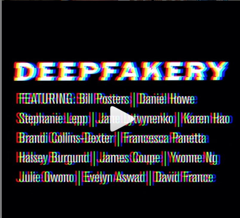 DEEPFAKERY: SATIRE, HUMAN RIGHTS, ART AND JOURNALISM IN A TIME OF INFODEMICS